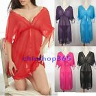 Very soft Sexy Lingerie Babydoll Night gown Nightwear Plus size 10 12 14 16