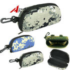 Camouflage Camo Tactical Sunglasses Case Outdoor Oversize Goggles Glasses Box