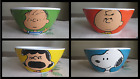 Peanuts GIBSON Bowl Color Block SNoopy Lucy Linus Charlie Brown PICK & CHOOSE