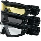 Valken Sierra Tactical Safety Googles Glasses Airsoft Direct Ventilation System
