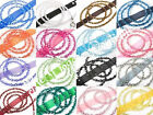 Dog Puppy Leash - Fabuleash - Bling Crystal Beads - 100 lb Pull Force -20 Colors