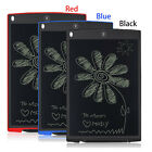 """8.5""""/12''LCD Writing Tablet Pad Paperless eWriter Board Stylus For Home/Office"""