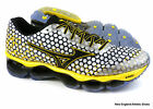 Mizuno men Wave Prophecy 3 running shoes sneakers - White / Black / Cyber Yellow