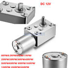 12V DC Motor High Torque Reduction Worm Reversible Turbo Geared Strong Powerful