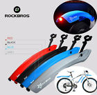RockBros Bike Fender Set MTB Cycling Front and Rear With LED Light Mudguard