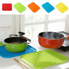 Kitchenware Pot Pan Mat Colorful Insulation Pad Table Mat Holder Non-slip Dinner