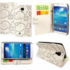 New Flip Wallet Leather Card Pocket Case Cover For Samsung Galaxy S4 / S4 mini