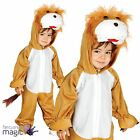 Boys Girls Toddler Lion Jungle Zoo King Wild Animal Fancy Dress Costume Outfit