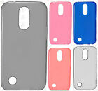 For LG K20 Plus Frosted TPU CANDY Gel Flexi Skin Case Cover Accessory