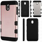 For LG K20 Plus ROSE Leather Wallet Case Pouch Flip Phone Cover +Screen Guard