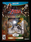 Wii U Twilight Princess Bundle w/ Wolf Link Amiibo Game |BRAND NEW Nintendo WiiU