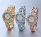 AOYI Fashion Dress Luxury  Diamond Case Womens Ladies Bracelet Watches Quartz