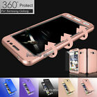 For Samsung Galaxy J3/J3 V 2016 360° Full Protection + Tempered Glass Case Cover