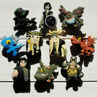 50pcs How To Train Your Dragon PVC Shoe Charms Accessories As Kids Children Gift