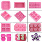 12 Styles DIY Creative Silicone Ice Candy Cake Cookie Soap Candle Mould