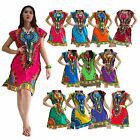 Mini Dress MJF 100% Cotton African Dashiki Kaftan Boho Top Beach Bikini Cover Up