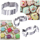 Stainless Steel Cake Biscuit Mold DIY Baking Pastry Tool New Cookie Cutter
