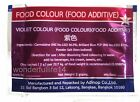 FOOD COLOUR ( FOOD ADDITIVE ) SAFE FOR FOOD , VIOLET FOOD COLORING FROM THAILAND