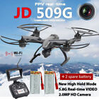 JXD RC 509G FPV Quadcopter with Monitor Camera 5.8G Set High A Key Return Drones