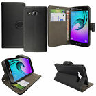 For Samsung Galaxy J3 2016 - Flip Wallet Leaher Case Cover FREE Screen Protector