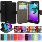 Flip Leather Wallet Case Cover For Samsung Galaxy J3 2016 FREE Screen Protector