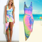 Summer Womens Casual Boho Dresses Sleeveless Party Cocktail Short Mini Dress New