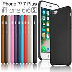 100% Luxury PU Leather Thin Case Cover For Apple iPhone 7 / 6  /6S 4.7 5.5 Plus