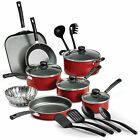 Nonstick Pots & Pans 18 Piece Cookware Set Kitchen Kitchenware Cooking