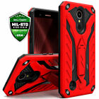 LG K20 Plus Case Cover Kickstand Protector Shockproof Dual Layered