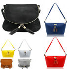 Women's Fashion Tassel Detail Shoulder Bags Quality Cross Body Bag Handbags