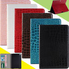 Crocodile Leather Stand Case Cover For Samsung Galaxy Tab S3 9.7 SM-T820 / T825