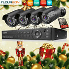 8CH AHD 1080P DVR 4x 3000TVL IR Outdoor CCTV Security Camera System Kit 1TB HDD