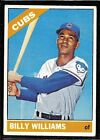 1966 TOPPS BASEBALL CUBS BILLY WILLIAMS #580 HIGH NUMBER CARD SP CENTERED EX