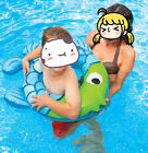 Swimming POOL Baby Swim Ring PLAY FISH SWIM RING--GREEN Clown fish AGE 3-6