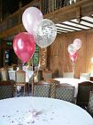 Happy 50th Birthday Balloons Decoration Kit -10 tables - Many Colours Other Ages