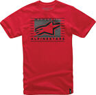 Alpinestars Time T-Shirt Red Mens All Sizes