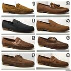 Mens Leather Boat Smart Formal Summer Boat Office Slip On Shoes New Defects