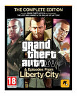 Grand Theft Auto IV & Episodes From Liberty Complete Edition, Playstation 3 Game