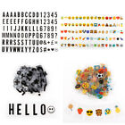 Extra Pack of Letters Numbers Symbols Emicons for A4 / A5 Cinematic LED Lamp Box