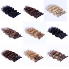 "USPS AAA+ 22"" Remy Human Hair 15Clips In Extensions 75g Body Wavy More Colors"