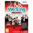 We Sing Rock Solus Game Wii Brand New