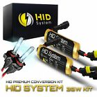 New GE Xenon HID Kit High Low Beam Fog lights H4 H7 H10 H11 H13 94 97 9006 5202