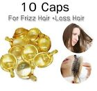 10 Caps Therapy Daily Hair Vitamin For Frizz And Loss Hair very good