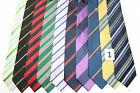 LOT OF 10 STRIPES silk ties. E37672