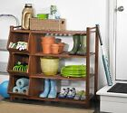 MERRY GARDEN ACACIA 4 TIER OUTDOOR SHOE RACK AND CUBBY SLF0020110000