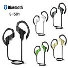Bluetooth Wireless Stereo Sport Headset Headphone Earphone For Samsung iPhone LG