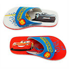 DISNEY CARS 3 LIGHTNING McQUEEN Flip Flops w/ Optional Sunglasses Beach Sandals