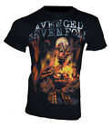 AVENGED SEVENFOLD -  Bandshirt *FIRE BAT* - Gr. M/XL T-Shirt