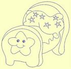 BABY THINGS RW-DESIGN 14- Anemone Machine Embroidery singles-75-100-125 mm
