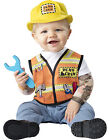 Baby Demo Crew Construction Worker Like Daddy Halloween Costume
